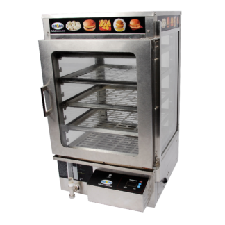 Cozoc PW5002-4-16 Display Case, Hot Food, Countertop